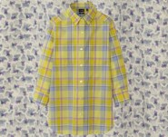 Suno Uniqlo checked shirt
