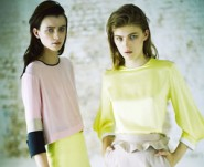 Preen models for the Jaeger Boutique