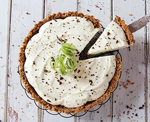 Ginger Key Lime Cheesecake