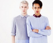 male and female model wear Richard Nicoll MatchesFashion collection