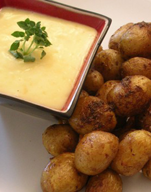 Spicy Roasted Salad Potatoes