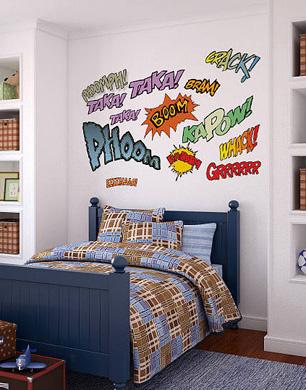 Superhero Bedroom Ideas For Boys
