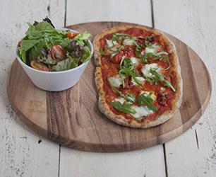 Tomato and Buffalo Mozzarella Skinny Rustica