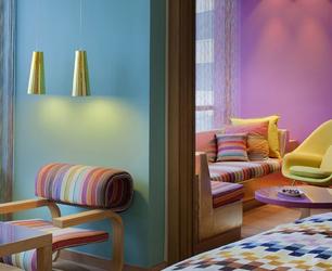 Colour Blocking Interiors