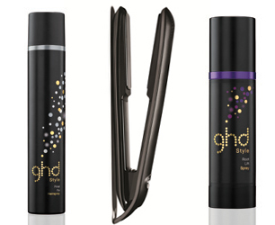 GHD tousled hair