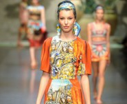 Dolce and Gabbana show, Spring Summer 2013, Milan Fashion Week, Italy - 23 Sep 2012
