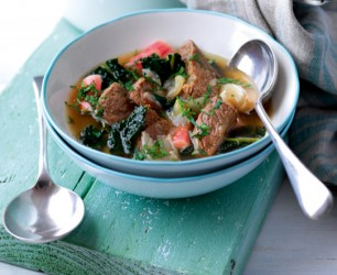 Light Lamb Stew With Rhubarb FEAT
