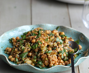 Spring Leek and Chickpeas Recipe