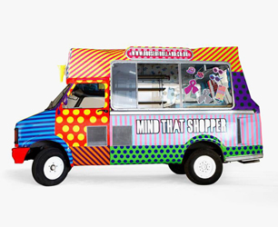 Henry Holland Ice Cream Van