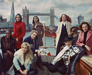 M&S Clothing Campaign Womenswear AW13