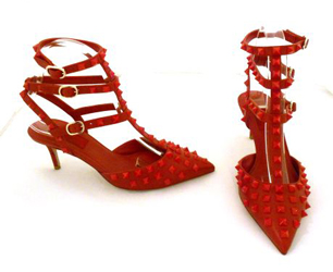 Valentino Rockstud Rouge Shoes