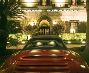 Grand Hotel Cocumella Entrance