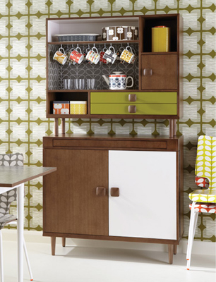 Retro furniture from orla kiely home stylenest for Furniture 70s style