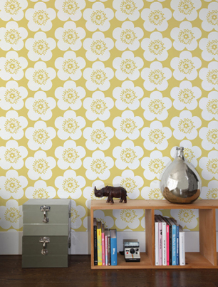 Contemporary wallpaper by aim e wilder stylenest for Modern wallpaper uk