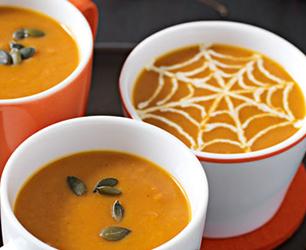 Curried Pumpkin Soup Feat