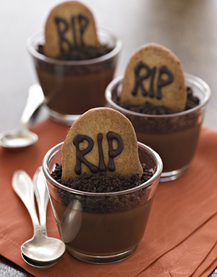 Halloween RIP Chocolate Pots Post