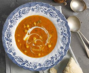 red lentil & chilli soup Feat