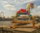 rocking horse on Thames