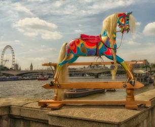 rocking horse on Thames