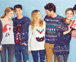 MEN AND WOMEN XMAS JUMPERS FROM GEORGE