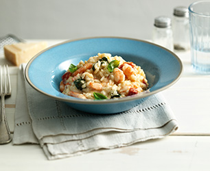 Prawn Risotto with Basil