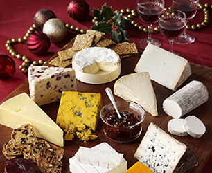 Christmas Cheeseboard Feat