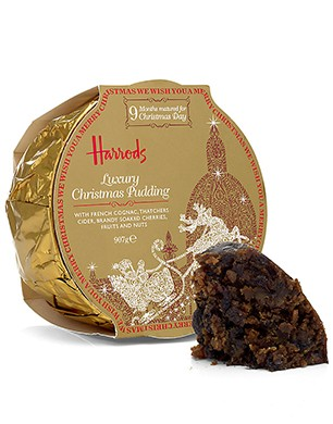 Luxury Christmas Pudding with French Cognac