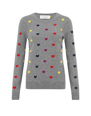 Collection WEEKEND by John Lewis Mini Heart Jumper