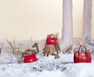 Mulberry Christmas woodland scene
