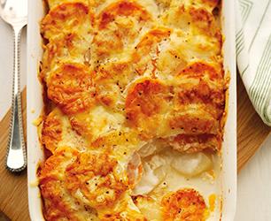 Two Potato Dauphinoise