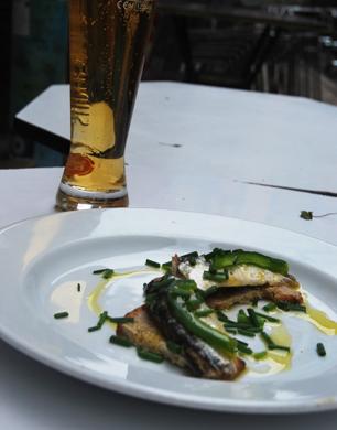 Sardines at Sol e Pesca, Lisbon