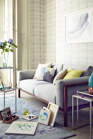 John Lewis Sofa In Living Room