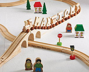 Personalised Name Train Set