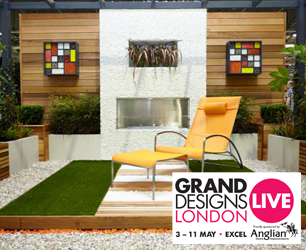 set at Grand Designs Live show