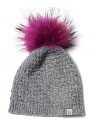 Cashmere and Raccoon Hat