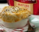 cheese pastry topped fish pie