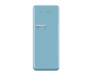blue Smeg fridge