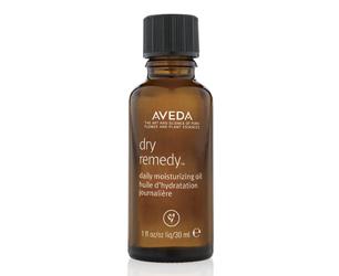 Aveda dry oil bottle