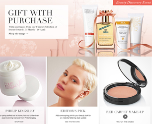 M&A Beauty Offer