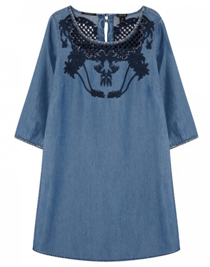 Maison Scotch Chambray Dress