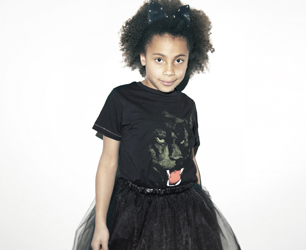 little girl in Rika fashion line