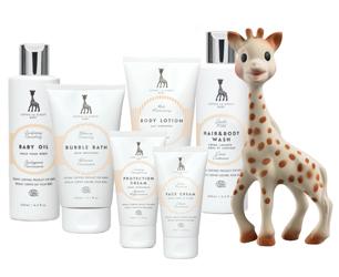Sophie La Giraffe Baby Beauty Range
