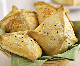 Packed Lunch Ideas- Cheese & Potato Parcels