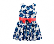 Joules Floral Belted Dress