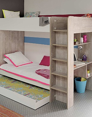 Piper Bunk Bed with Trundle Drawer