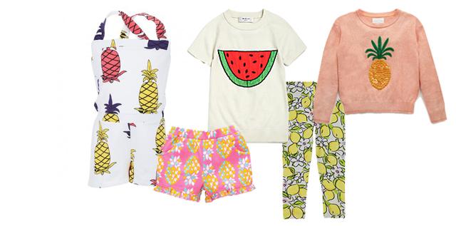 pineapple print jumper