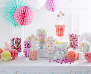 John Lewis Weddding Sweetie Table