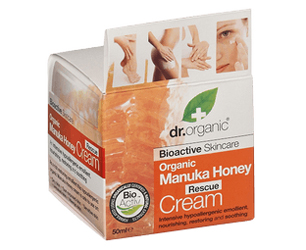 manuka honey face cream box