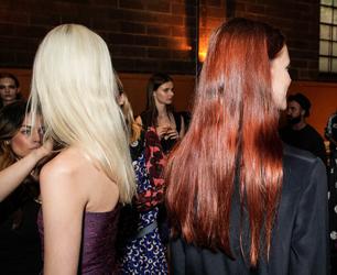 Stella McCartney Resort 2015 Presentation Aveda Hair Tips