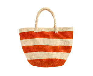 Feat Stripe Basket